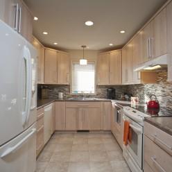 Kitchen with custom upgrades