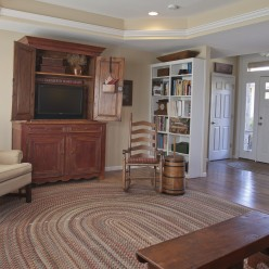 Great room and entry way