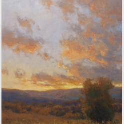 Quiet in the Valley by Kim Casebeer / 24 x 20, oil on panel, framed / Retail value: $3,000