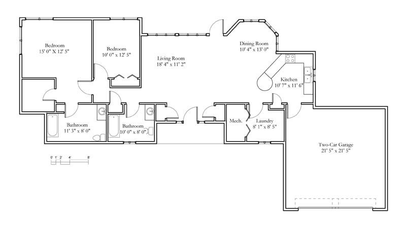 Cottage Sample Floor Plans | Meadowlark | Continuing Care ...