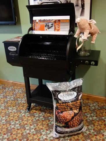 Win a Louisian Pellet Grill Package