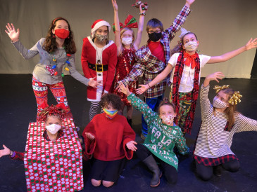 "Students from the Manhattan Arts Center's Youth Theater Program perform the classic poem ""A Visit from St. Nicholas"" by Clement Clarke Moore."