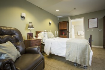 Bramlage House offers a comfortable place for you to recuperate.