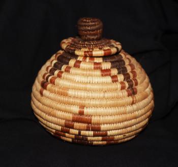 Botswana Lidded Vessel - Small